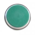 Миска-блюдце металлическая на резинке утяжеленная GREEN д