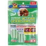 DoggyMan. Отбеливающие палочки с хлородентом для устранения и профилактики зубного камня. Размер S .10шт.