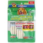 DoggyMan. Отбеливающие палочки с глобигеном для устранения и профилактики зубного камня. Размер S .10шт.