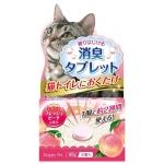 Joypet.  Таблетки для устранения запахов кошачьего туалета. С ароматом персика.