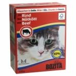 Bozita. Консервы для кошек c рубленой говядиной в желе. 370гр.