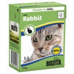 Bozita. Консервы для кошек c кроликом в желе. 370гр