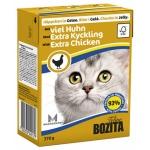 Bozita. Консервы для кошек c курицей в желе. 370гр