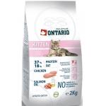 ONTARIO Корм для котят Курица 2 кг