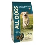 ALL DOGS Корм для собак 2,2 кг