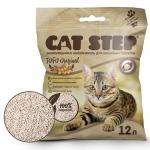 Cat Step Наполнитель комкующийся растительный Tofu Original 12л