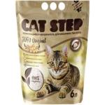 Cat Step Наполнитель комкующийся растительный Tofu Original 6л