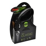 Flexi рулетка New Classic L (до 50 кг) лента 8 м черная