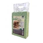 Lucky Cat Наполнитель комкующийся растительный Tofu Зеленый чай 6л