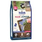 Bosch. MAXI JUNIOR. Полнорационный корм для щенков гигантских и крупных пород (весом свыше 25 кг). 1 кг