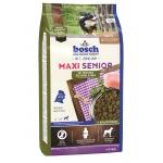 Bosch. MAXI SENIOR с птицей и рисом. Полнорационный корм для пожилых собак крупных пород (весом свыше 25 кг). 1 кг