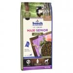 Bosch. MAXI SENIOR с птицей и рисом. Полнорационный корм для пожилых собак крупных пород (весом свыше 25 кг). 12,5 кг