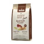 Bosch. SOFT с уткой и картофелем. Полнорационный корм Holistic+ для взрослых собак с чувствительным пищеварением, склонных каллергии и пищевой непереносимости. 1 кг