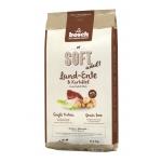 Bosch. SOFT с уткой и картофелем. Полнорационный корм Holistic+ для взрослых собак с чувствительным пищеварением, склонных каллергии и пищевой непереносимости. 12,5 кг