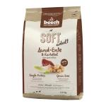 Bosch. SOFT с уткой и картофелем. Полнорационный корм Holistic+ для взрослых собак с чувствительным пищеварением, склонных каллергии и пищевой непереносимости. 2,5 кг