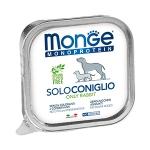 Monge. Dog Monoproteico Solo. Консервы для собак, паштет из кролика. 0,15 кг