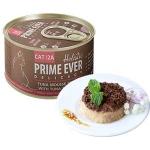 Prime Ever 2.А. Консервы для кошек. Мусс из мяса тунца с кусочками тунца и креветками.0,08кг