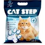 Наполнитель Cat Step силикагелевый 15,2 л.