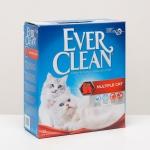Ever Clean Multiple Cat Наполнитель комкующийся c ароматизатором 10л.