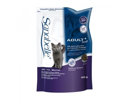 Bosch. SANABELLE. ADULT с мясом страуса. Полнорационный корм - рекомендован для кошек домашнего содержания. 0,4 кг