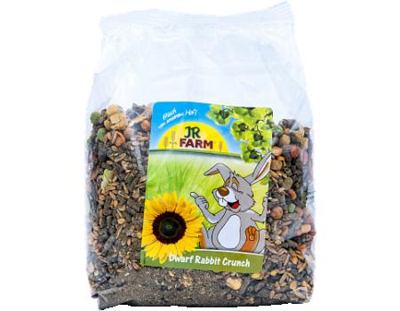 JR Farm. Crunch. Корм для карликовых кроликов. 1 кг.