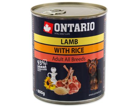Консервы Ontario с олениной и клюквой 0,8 кг