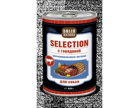 Консервы Solid Natura Selection c говядиной 0,97 кг