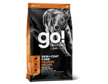 GO!  Корм для собак и щенков со свежим лососем и овсянкой 1,6 кг