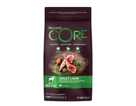 Wellness Core корм для собак всех пород 1,8кг
