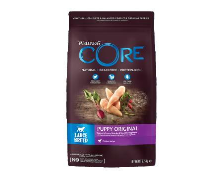 Wellness Core корм для щенков крупных пород 2,75кг