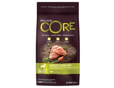 Wellness Core Low Fat корм для собак средних и крупных пород с пониженным содержанием жира 1,8кг