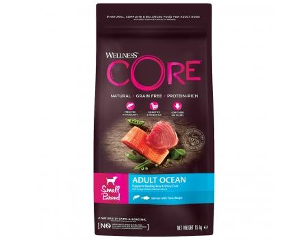 Wellness Core Ocean корм для собак мелких пород с лососем 1,5кг