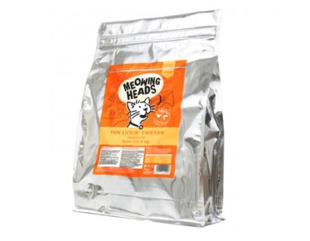 """Barking Heads Корм для взрослых кошек с Курицей и рисом """"Куриное наслаждение"""" 8 кг"""