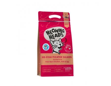 "Barking Heads Корм для взрослых кошек с Лососем, курицей и рисом ""Фиш-гурман"" 1,5 кг"