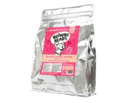 "Barking Heads Корм для взрослых кошек с Лососем, курицей и рисом ""Фиш-гурман"" 4 кг"