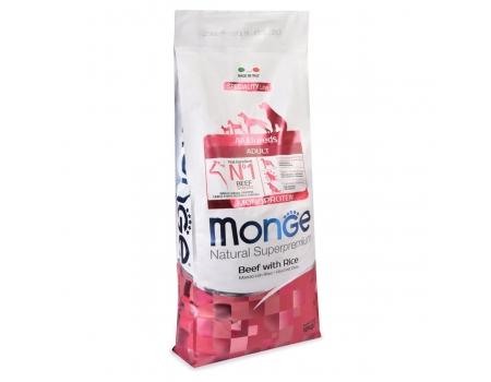 Monge Dog Speciality Корм для собак всех пород, говядина и рис 12кг