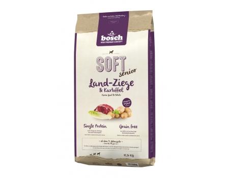 Bosch SOFT SENIOR с козлятиной и картофелем 12,5 кг