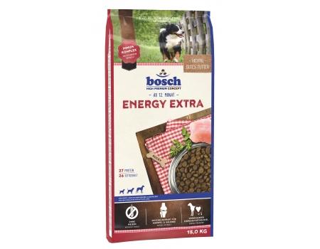 Bosch. ENERGY EXTRA . Полнорационный корм для взрослых собак с высоким уровнем активности. 15 кг