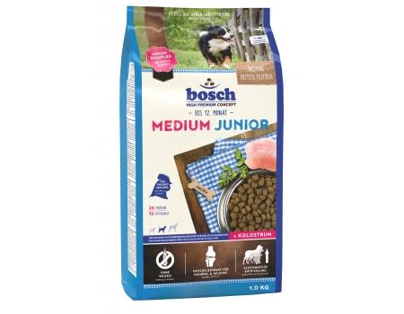 Bosch. MEDIUM JUNIOR. Полнорационный корм для щенков средних пород. 1 кг