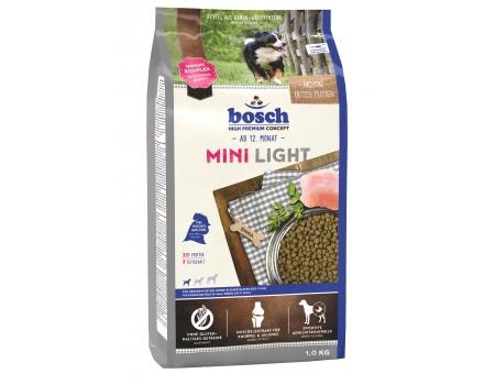 Bosch. MINI LIGHT. Полнорационный корм для собак маленьких пород, склонных к полноте, и с избыточным весом. 1 кг