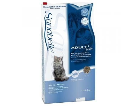 Bosch. SANABELLE. ADULT с форелью. Полнорационный корм - рекомендован для кошек домашнего содержания. 10 кг