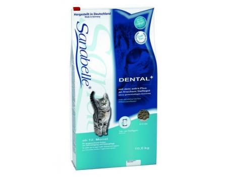 Bosch. SANABELLE. DENTAL. Полнорационный корм  - поддерживает гигиену ротовой полости, удаляет зубной налёт. 10 кг