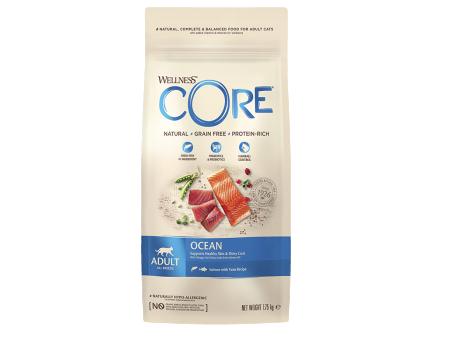 Wellness Core для кошек с  лососем и тунцом 1,75кг