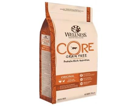 Wellness Core для кошек с индейкой и курицей 1,75кг