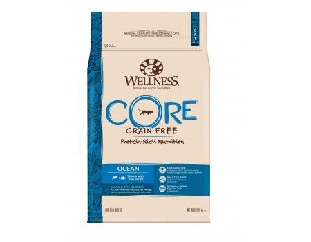 Wellness Core для кошек с  лососем и тунцом 10кг